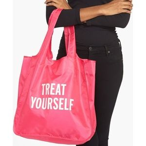 Kate Spade Treat Yourself Reusable Shopping Tote